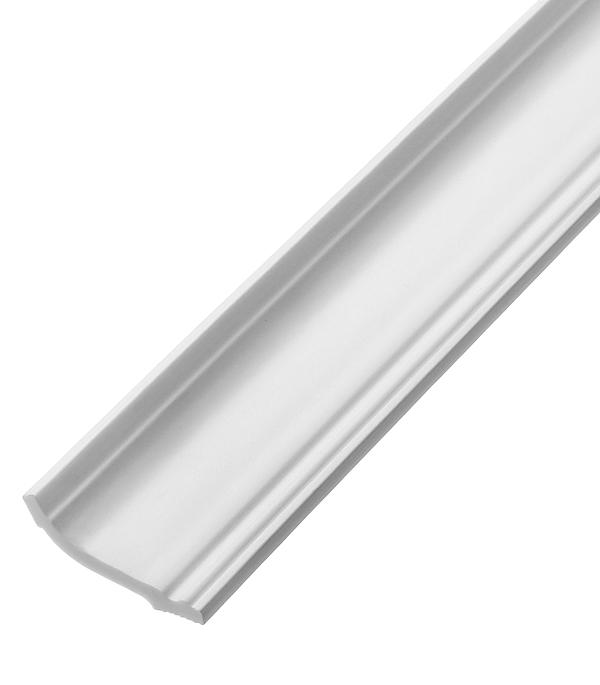 Плинтус из пенополистирола 35х55х2000 мм Плинтэкс с возможностью светодиодной подсветки IC35/55S материалы для стен и потолка