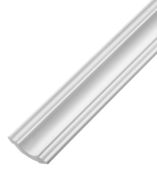 Плинтус из пенополистирола 35х35х2000 мм Плинтэкс с возможностью светодиодной подсветки I35/35SC материалы для стен и потолка