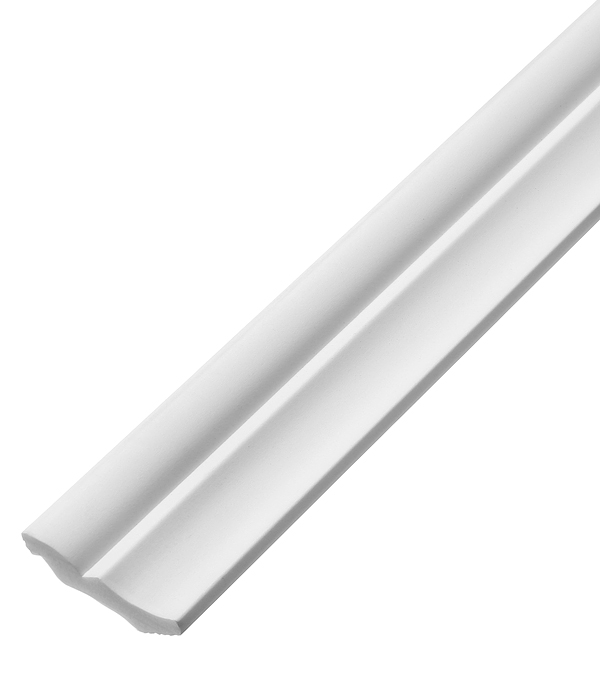 Плинтус из пенополистирола 40х50х2000 мм Плинтэкс с возможностью светодиодной подсветки H40/50SC материалы для стен и потолка
