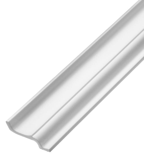 цены Плинтус из пенополистирола 40х60х2000 мм Плинтэкс с возможностью светодиодной подсветки J40/60SC