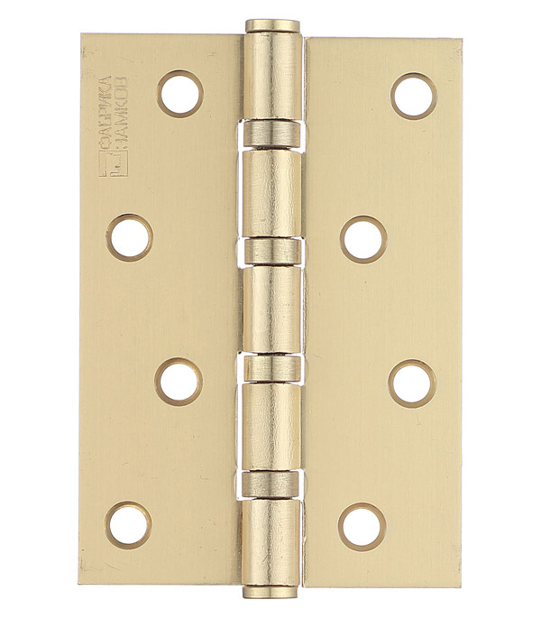 Петля ФЗ Е-100 SB универсальная неразъемная 100х75 мм латунь петля универсальная накладная 100 мм медь