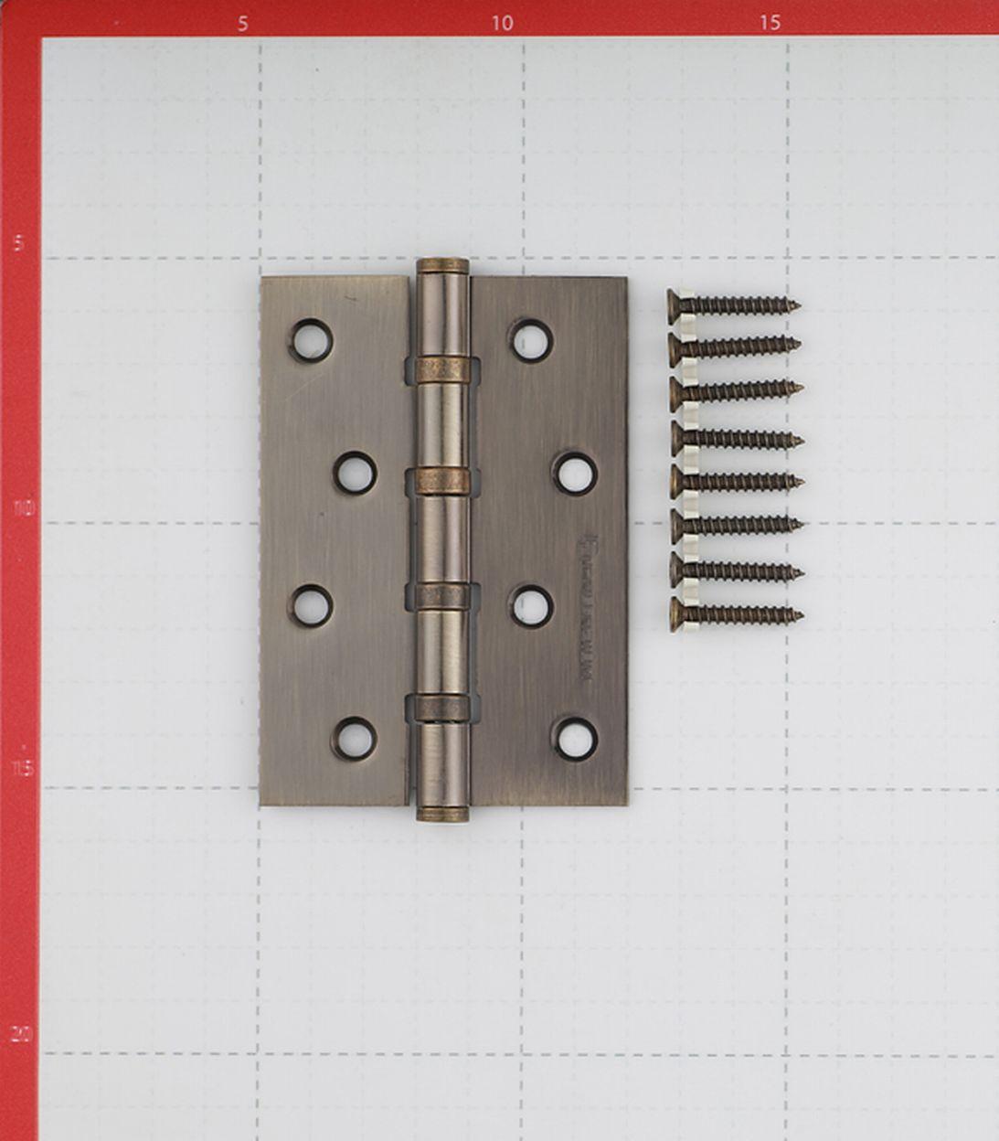 Петля Palladium N 4BB-100 AB универсальная неразъемная 100х70x2 мм бронза
