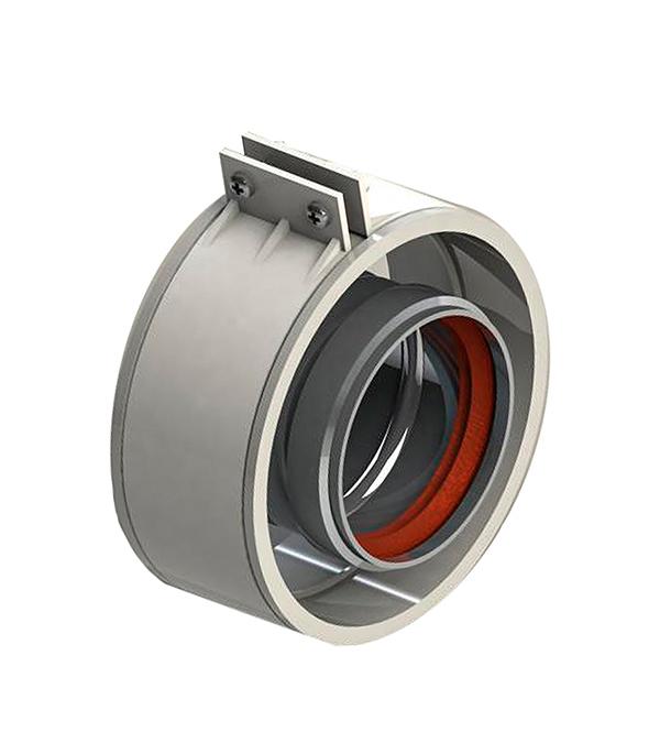Муфта соединительная Stout коаксильная для труб D60/100 мм с уплотнением хомут с муфтой EPDM в комплекте цена