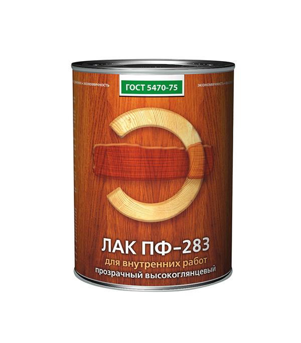 Лак алкидный Empils ПФ-283 ГОСТ 5470-75 бесцветный 2,4 кг высокоглянцевый