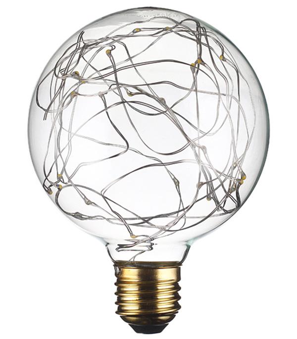 Лампа светодиодная REV VINTAGE 2 Вт E27 шар G95 2700 К теплый свет 230 В прозрачная декоративная лампочка uniel vintage led g95 4w golden e27 теплый свет 4 вт светодиодная