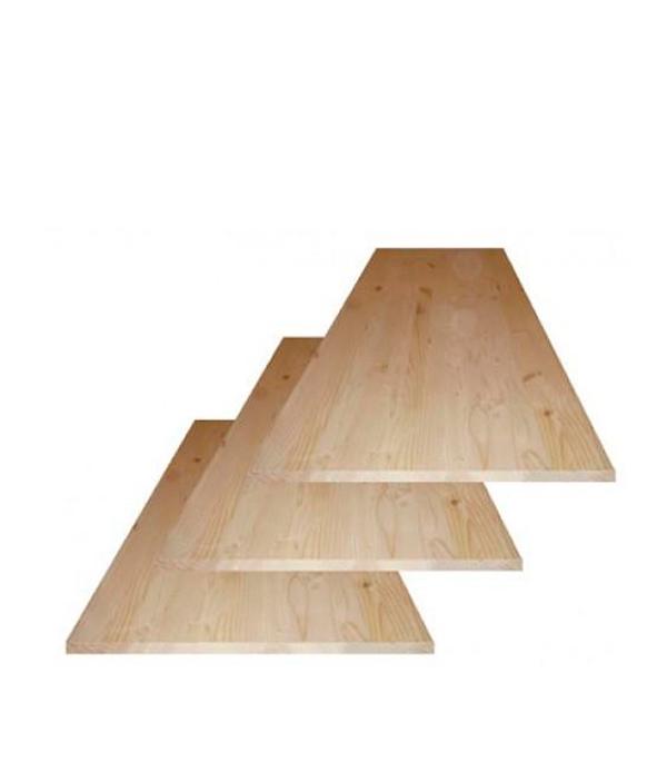 Щит мебельный хвоя 18х200х1600 мм сорт АВ клееный