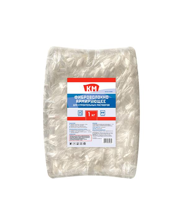 цена на Фиброволокно армирующее для бетонов и растворов полипропиленовое КМ 1 кг