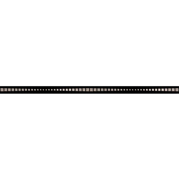 Керамогранит Керамика будущего Канны бордюр черный 600х25х10,5 мм