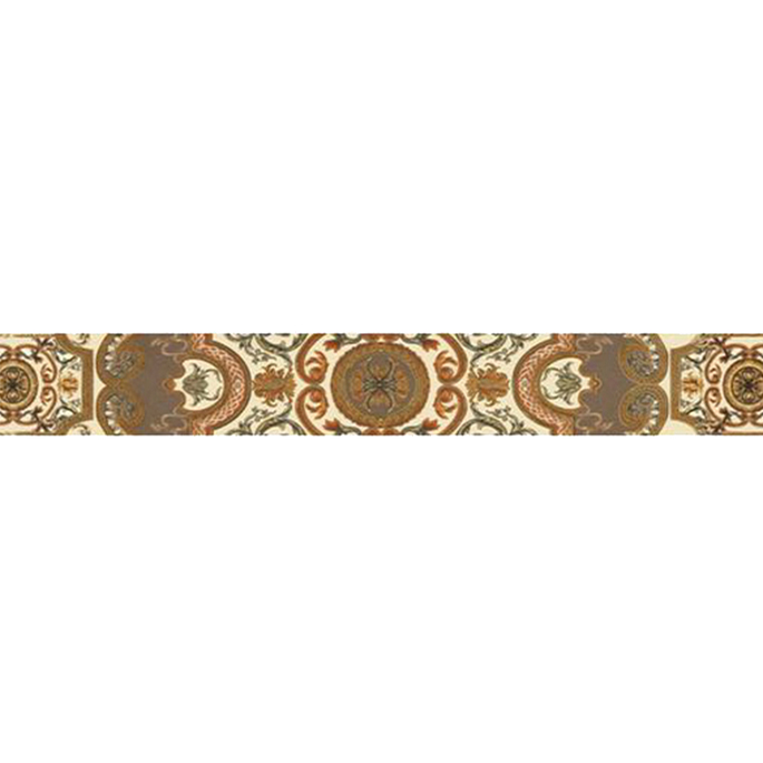 Плитка бордюр Gracia Ceramica Triumph бежевая 600x65x8 мм панно gracia ceramica palermo beige 02 50x40 комплект