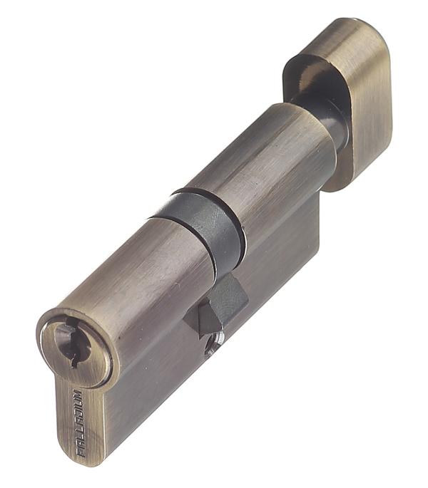 цена на Цилиндр Palladium AL 70 T01 AB 70 (35х35) мм ключ-вертушка античная бронза