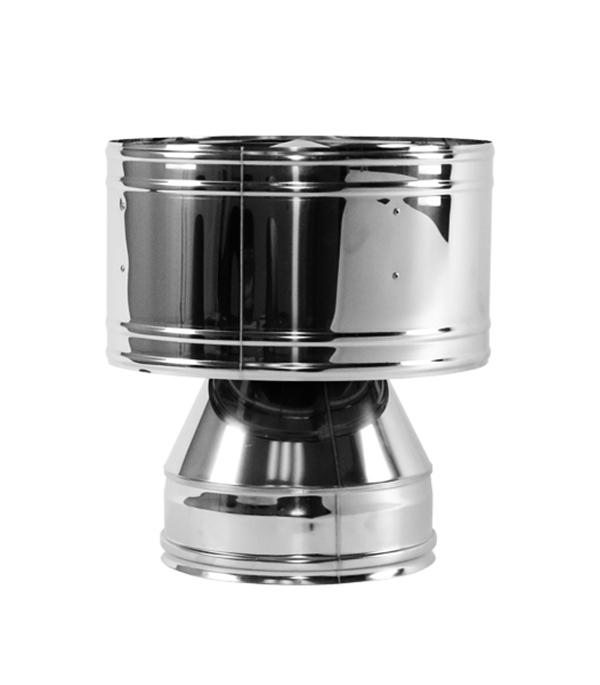 Дефлектор Вулкан V50R 150x250 нерж 321x304