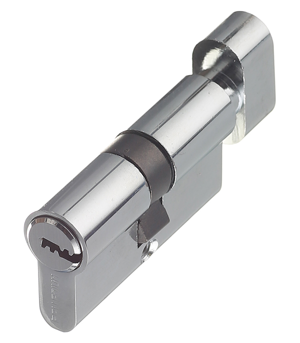 цена на Цилиндр Palladium AL 60 C T01 CP 60 (30х30) мм ключ-вертушка хром