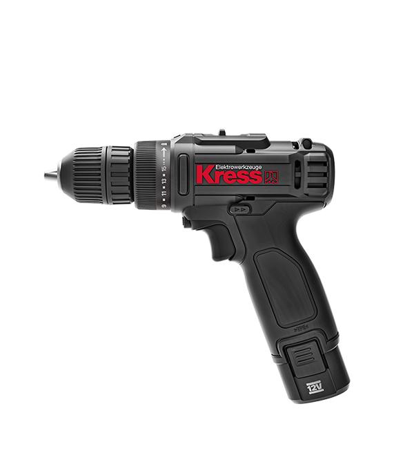 цена на Дрель-шуруповерт аккумуляторная Kress KU201.2 12В 2х2Ач Li-Ion