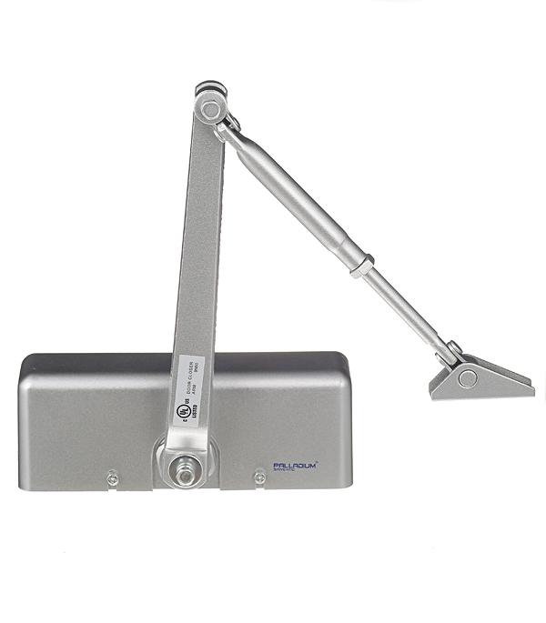 купить Доводчик дверной Palladium 1060 40-60 кг серебро онлайн