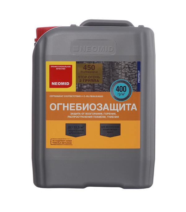 купить Антисептик Neomid 450 огнебиозащитный II группа бесцветный 5 кг онлайн