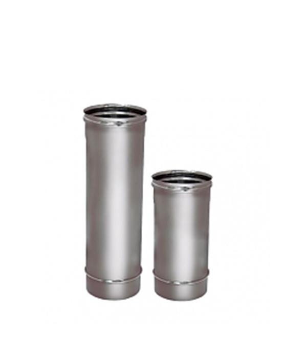 цена Труба Вулкан 1000 мм  120 без изоляции  на расширителе зеркальная 304 онлайн в 2017 году