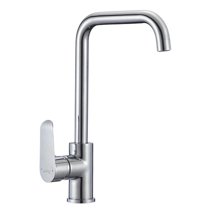 Смеситель для кухни ELEANTI Aquamarine 20345 однорычажный с высоким поворотным изливом