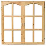 Простые деревянные окна без стеклопакета