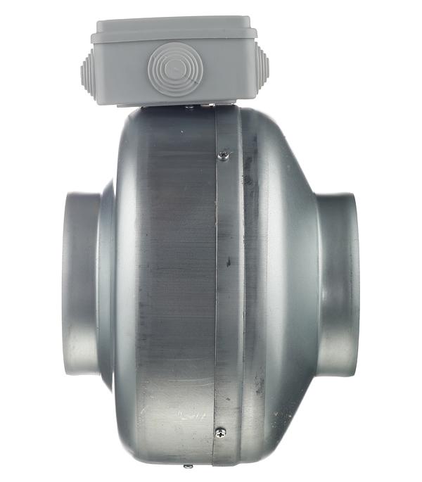 Вентилятор канальный центробежный ERA TORNADO EBM d125 мм серебро фото