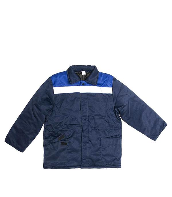 Куртка рабочая утепленная Север 52-54 рост 182-188 см цвет темно-синий/васильковый куртка simond куртка утепленная муж hybrid sprint