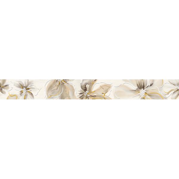 Плитка бордюр Cersanit Illusion светло-бежевая 440x50x8,5 мм цены