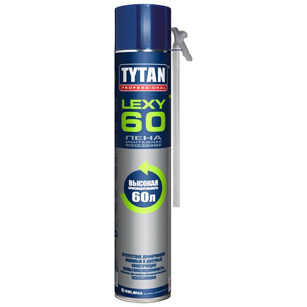 Пена монтажная TYTAN Professional Lexy 60 всесезонная 750 мл