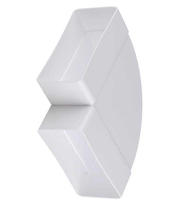 Колено для плоских воздуховодов горизонтальное пластиковое 60х120 мм 90° колено круглое 90 градусов awenta ko100 23