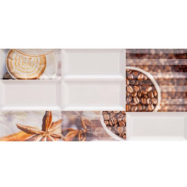 цена на Плитка декор AZORI Вог Арабика 201х405х9 мм