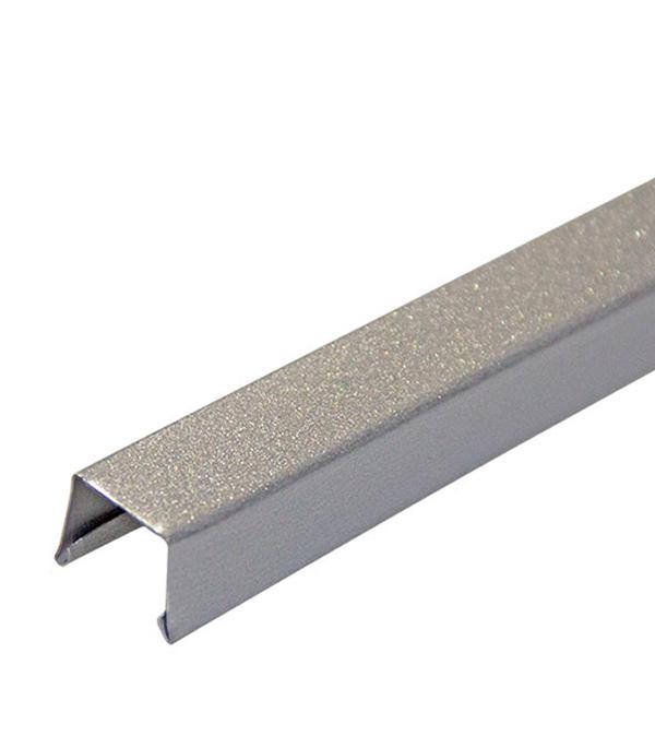 Профиль П-образный RPP универсальный металик 18.6х15х3000 мм
