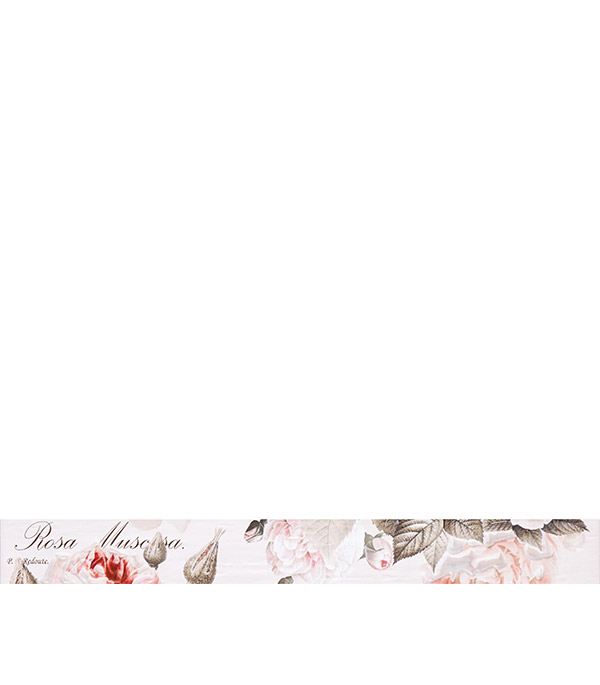 Плитка бордюр Гарден Роуз 600х65х10 мм бежевый бордюр keros ceramica fresh cen gaudi 5х40