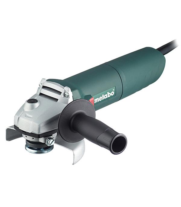 Шлифмашина угловая (УШМ) Metabo W 1100-125 1100 Вт 125 мм цена