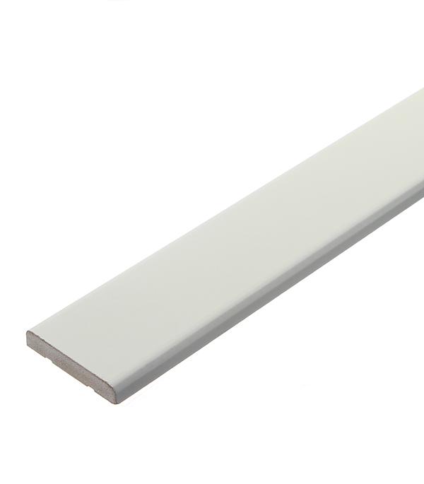 Наличник МДФ окрашенный белый 58х10х2200 мм сопутствующие товары