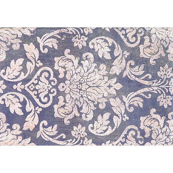 Плитка декор Евро-Керамика Тоскана синяя 400x270x8 мм