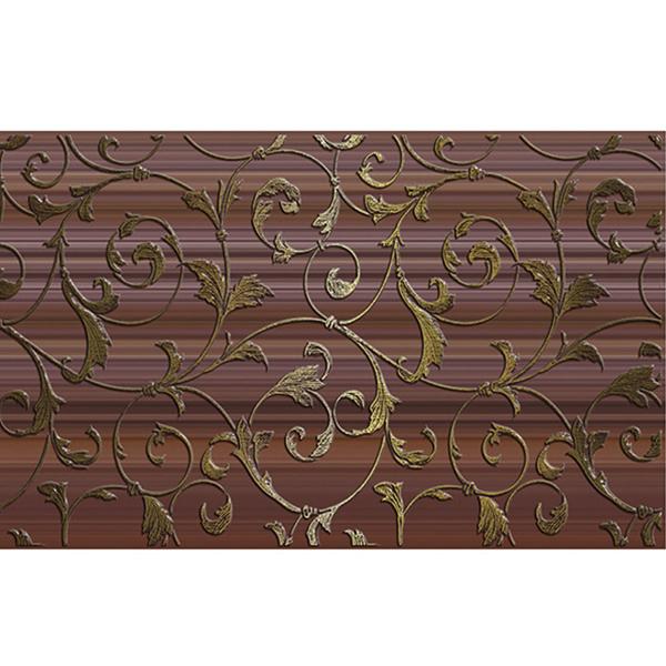 цены Плитка декор Нефрит-Керамика Кензо коричневая 250x400x8 мм