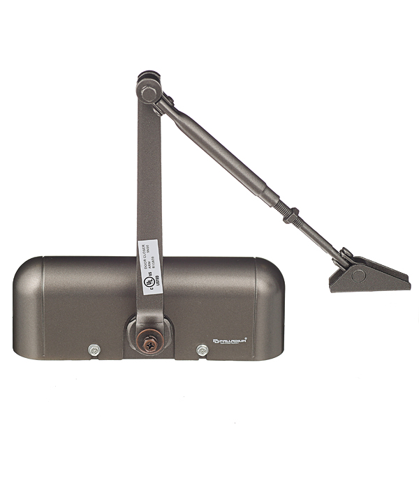 Доводчик дверной Palladium 1025 D 15-25 кг коричневый доводчик palladium 1060 40 60 коричневый