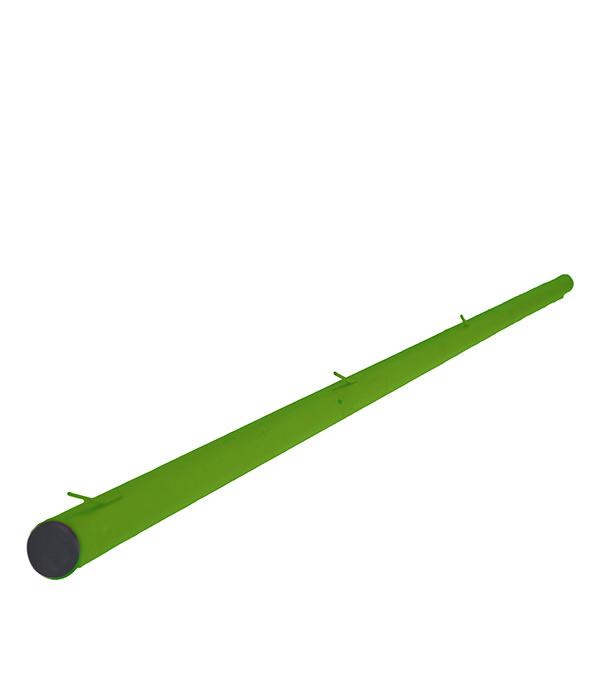 Столб для рабицы d42 мм 2,3 м зеленый RAL 6005 фото