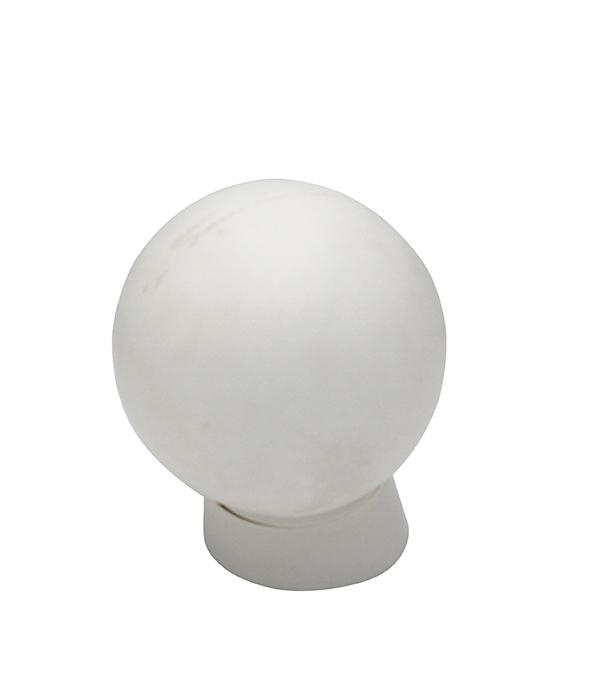 Светильник накладной SVET Е27 150х150х205 мм 60 Вт 220 В IP20 шар белый косое основание