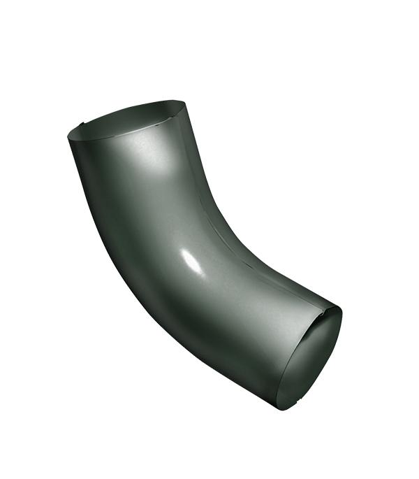 Колено трубы Grand Line металлическое d90 мм 60° хвойно-зеленый RR 11 колено стока металлическое отвод трубы d90 мм белое grand line