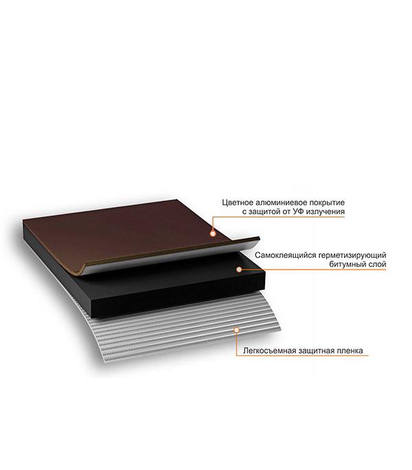 Лента гидроизоляционная Nicoband коричневый 10 м х 30 см фото