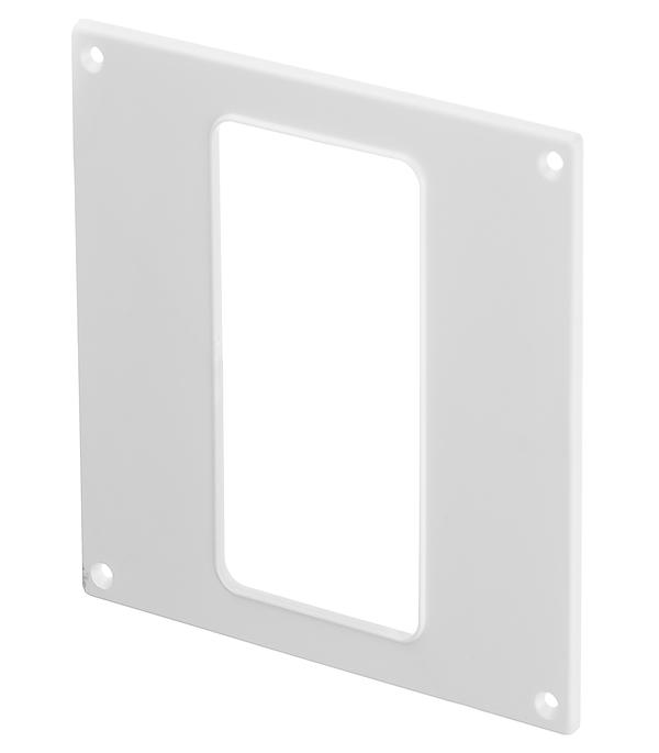 Накладка настенная для плоских воздуховодов пластиковая 60х120 мм цена