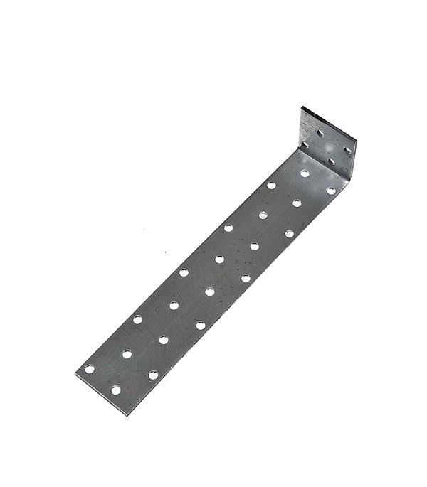 Уголок соединительный оцинкованный 40х200х40х2 мм