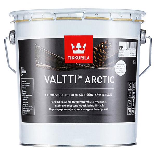 Фасадная лазурь Tikkurila VALTTI ARCTIC EP 2,7л