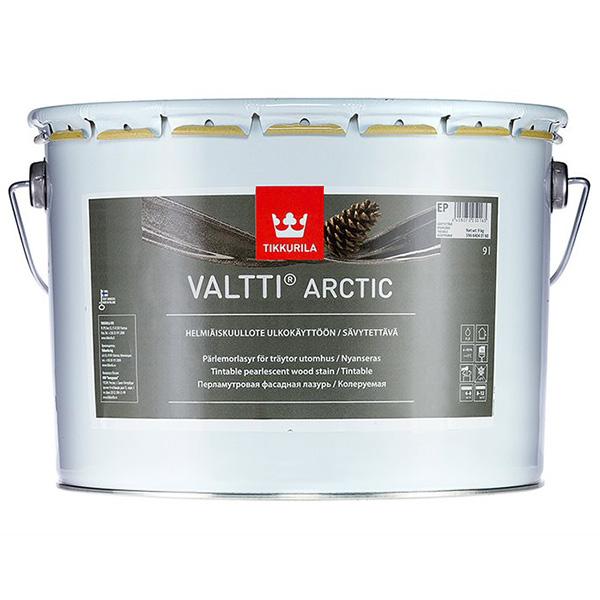Фасадная лазурь Tikkurila VALTTI ARCTIC EP 9л