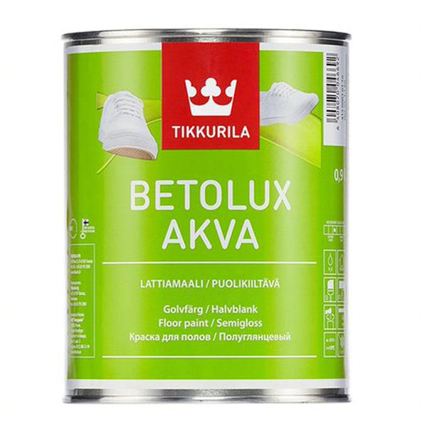 Фото - Краска для полов BETOLUX AKVA A п/гл 0,9л добавки