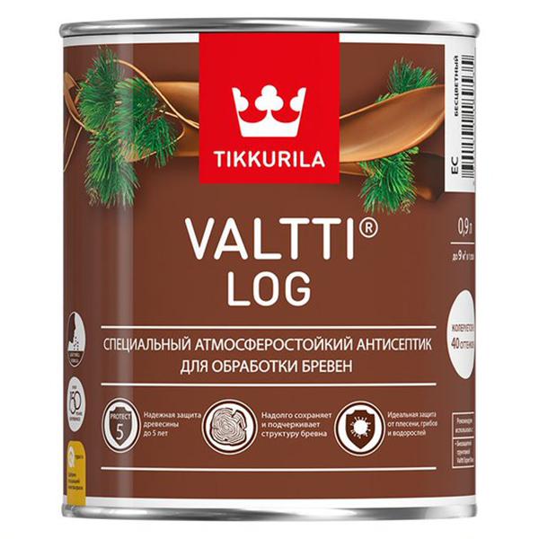 Антисептик Tikkurila VALTTI LOG EC 0,9 л