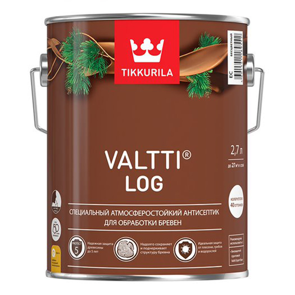 Антисептик VALTTI LOG сосна 2,7 л