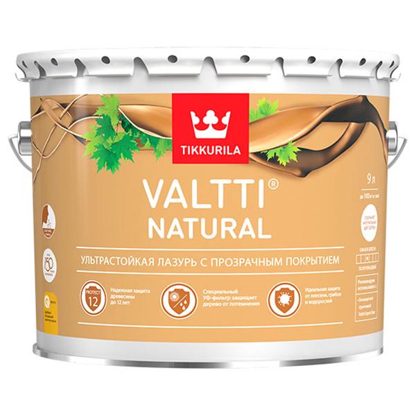 Антисептик Tikkurila VALTTI NATURAL 9л
