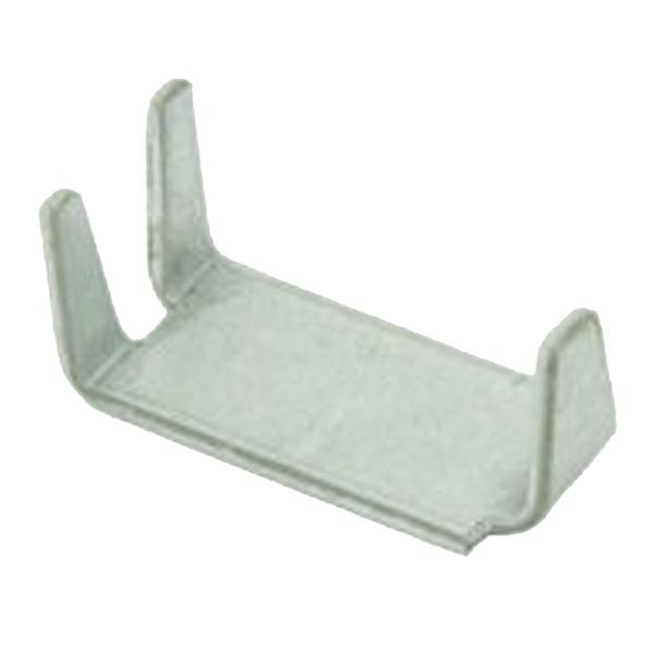 Скоба соединительная для сетки и 3D панелей оцинкованная (20 шт.)