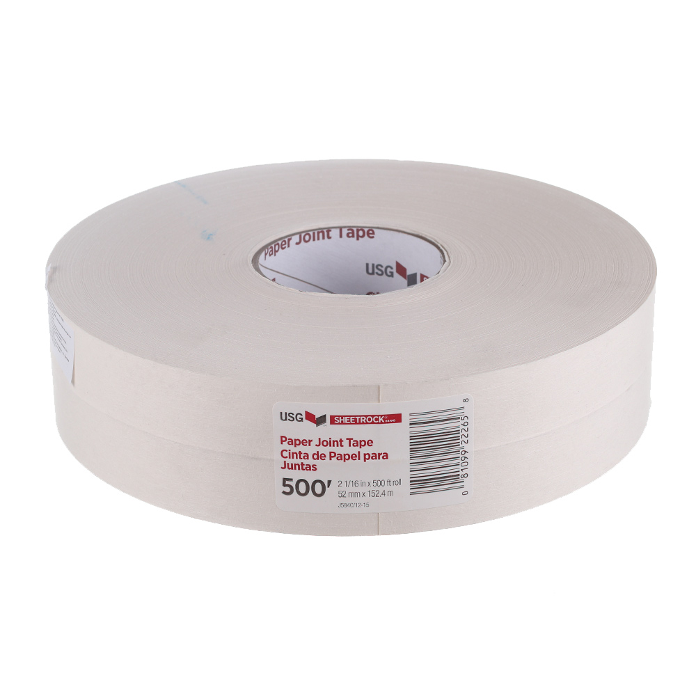 Лента бумажная Sheetrock для швов ГКЛ 52 мм х 152 м шпатлевка для стыков гкл 5 кг