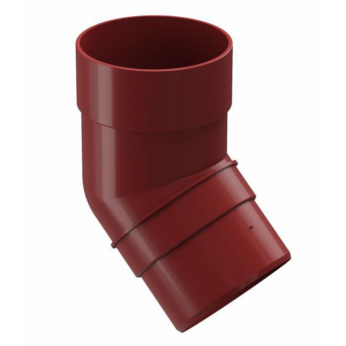 цена на Колено трубы Docke Premium пластиковое d85 мм 45° гранат RR 29